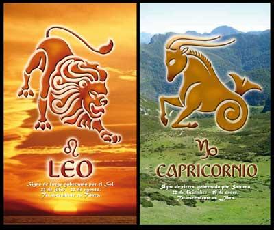 Capricorn dating a leo