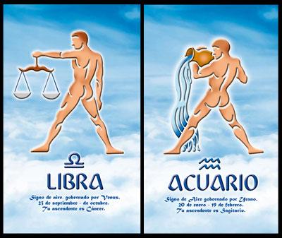 Libra and Aquarius Compatibility Relationship