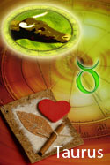 Personality traits used for Love Horoscope for Taurus