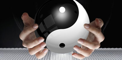 picture of Ying Yang ball